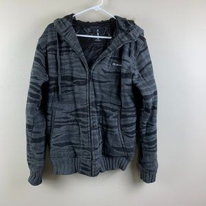 Billabong Jacket with Faux Fur Lined Hood